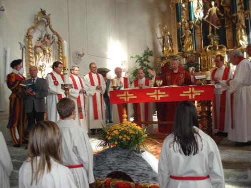 Gottesdienst mit Bischof Norbert Brunner