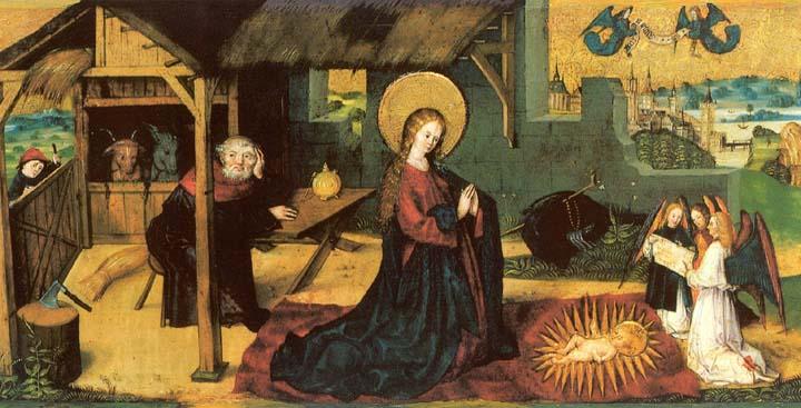 Geburt Christi, 15. Jh., Frauenkloster St. Andreas, Sarnen